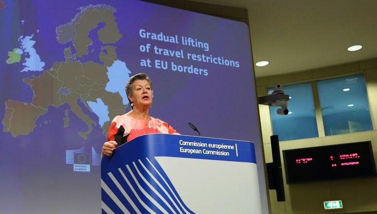 Liste des pays autorisés a entrer dans L'UE a partir du 1er juillet