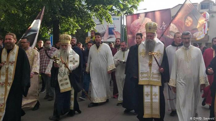 Monténégro, Des prêtres orthodoxes serbes accusent le gouvernement de soutenir les satanistes