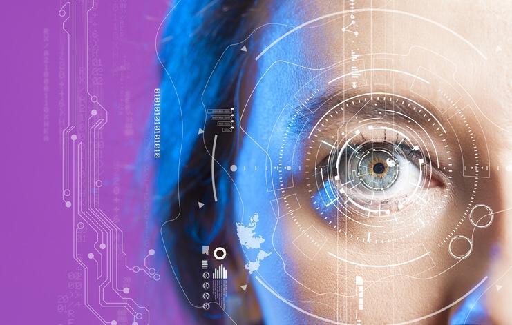 Mojo Vision, Cette lentille de contact affichera votre calendrier, la météo et les  notifications sur la surface de votre œil.