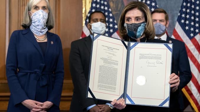 États-Unis-La Chambre remettra lundi un article sur la destitution de Trump au Sénat