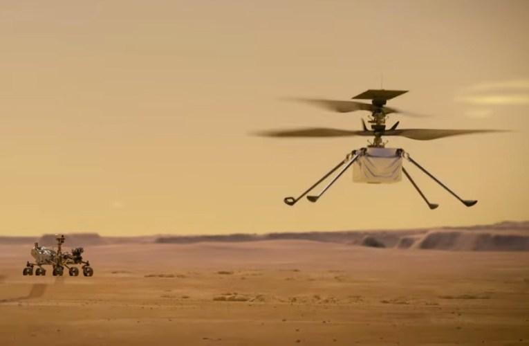 Hélicopter Ingenuity: La NASA s'apprête à essayer un vol historique sur Mars
