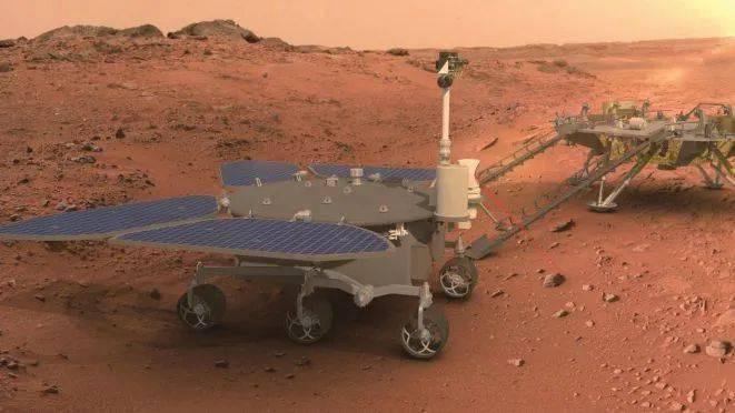 La Chine débarque son rover Zhurong sur Mars