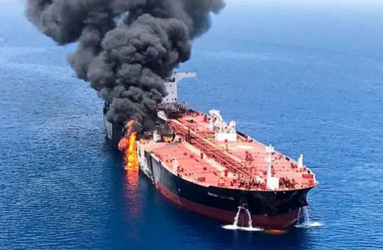 Attaque meurtrière d'un pétrolier en mer d'Oman