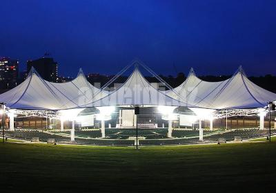 full Amphitheater Tensile Membrane Structures 01