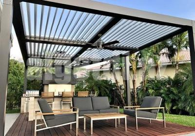 Louvered Roof Systems2