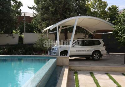 Private Car Parking Sheds Parking Roof for Private House Villa Outdoor Garden 1
