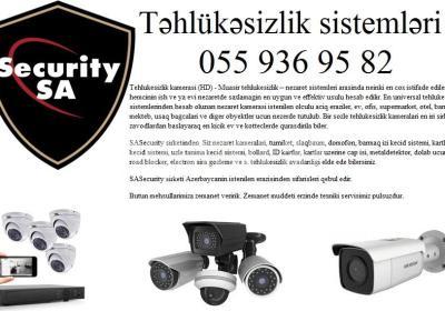 tehlukesizlik kameralari 055 936 95 82