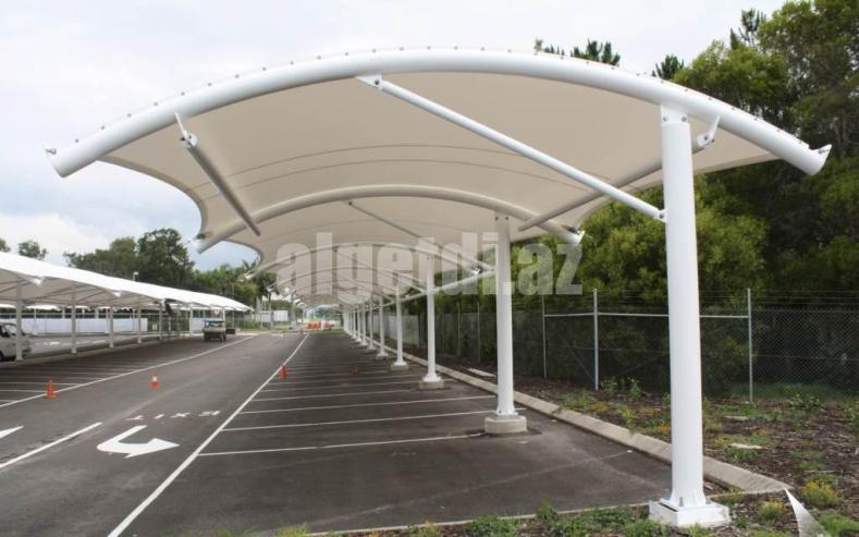Car-Parking-Tensile-Structure