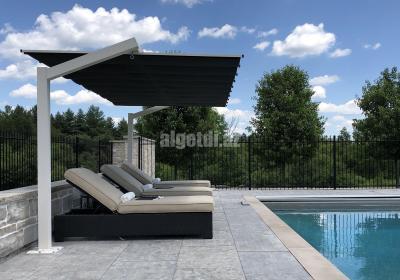 freestanding retractable canopy hamilton 6