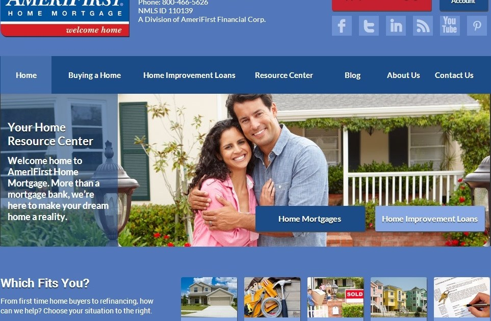 Inbound Marketing Case Study Amerifirst Home Mortgage Al Getler