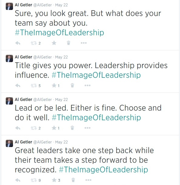 The Image of Leadership Image Tweets