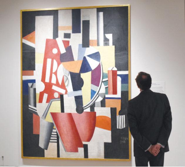 معرض كبير للفن التكعيبي في نيويورك Alghad