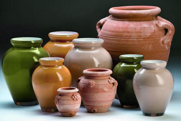 تصاميم وأشكال متجددة من الفخار تزين المنزل Alghad