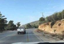 Photo of محال ميكانيك تغلق أجزاء من طريق جرش عجلون