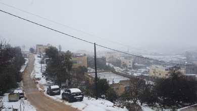 Photo of بدء تساقط الثلوج في عجلون