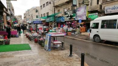 Photo of الكرك: الباصات الخصوصية والبسطات تغلق الوسط التجاري