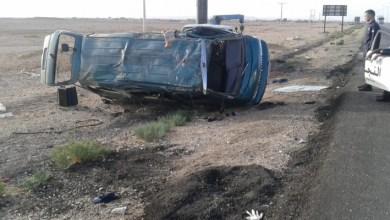 Photo of إصابة 15 شخصا بتدهور باص صغير في المفرق