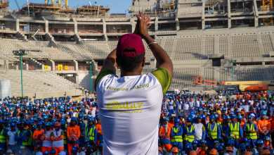 Photo of اجتياز 200 مليون ساعة عمل في منشآت كأس العالم 2022