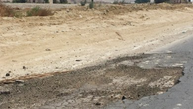 Photo of شارع وادي الأردن : بنية متهالكة تتسبب بحوادث مميتة