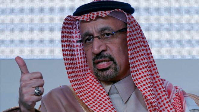 الملك السعودي أصدر أمرا بإعفاء الفالح من منصب وزير الطاقة