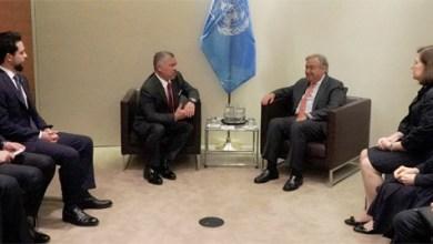 Photo of الملك يلتقي الأمين العام للأمم المتحدة في نيويورك