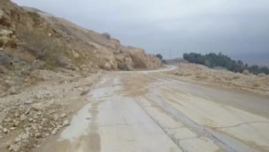 طريق الكرك الأغوار الجنوبية -(ارشيفية)