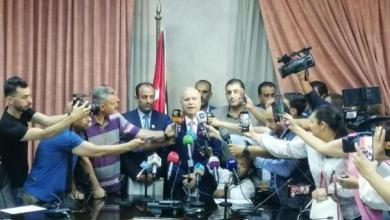 وزير التربية والتعليم وليد المعاني يتحدث للصحفيين بعد اجتماع أمس