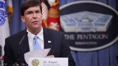 Photo of إسبر: نتوقع انتقال القوات الأمريكية المنسحبة من سوريا إلى العراق