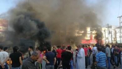"""Photo of الرمثا: تجدد احتجاجات """"البحارة"""" لليوم الثاني وسط جهود لتطويق الأحداث"""