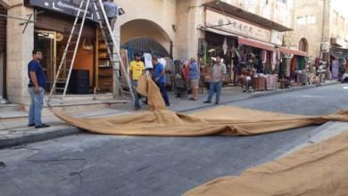 Photo of تظليل الشارع السياحي في مادبا