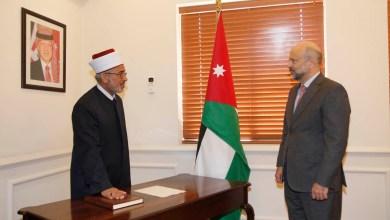 Photo of قاضي القضاة يؤدي اليمين القانونية