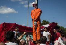 اعدام دمية لغولن بعد محاولة الانقلاب