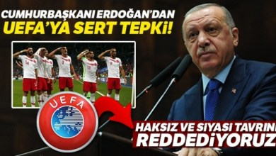 "Photo of اردوغان يُهاجم ""يويفا"" على خلفية التحية العسكرية"