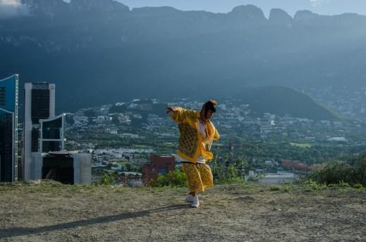 مشهد من فيلم المكسيكي الفائز