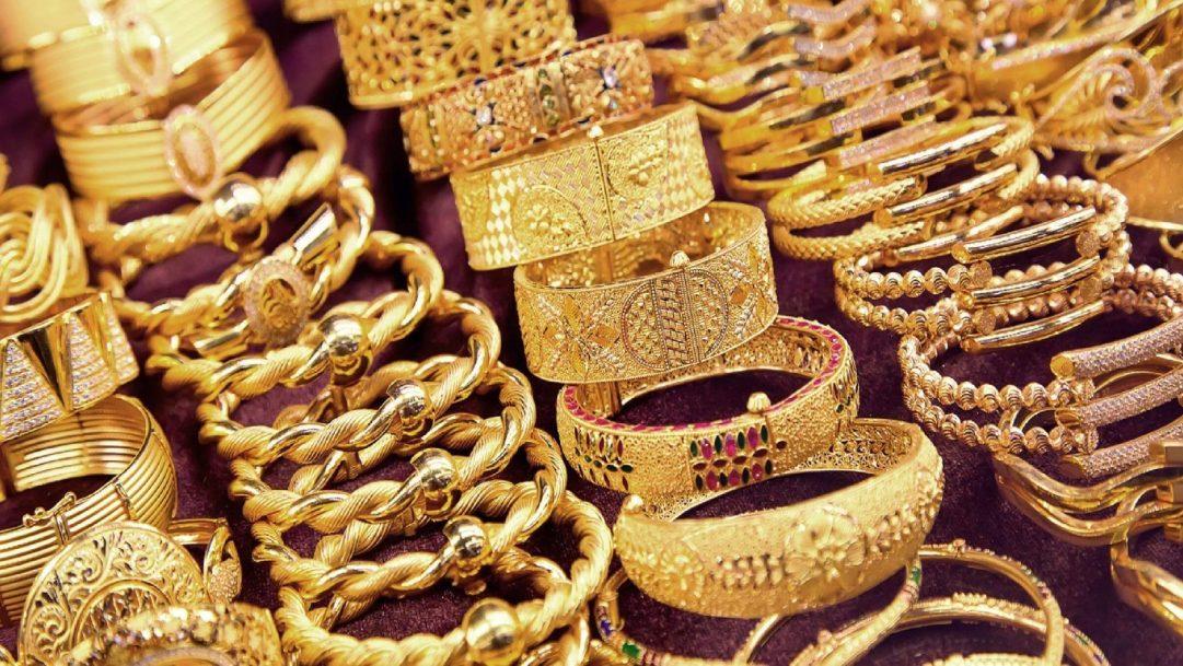 صورة تعبيرية لمصاغ ذهبية