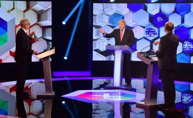 جونسون وكوربين في الانتخابات البريطانية