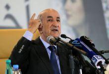 الرئيس الجزائري الجديد تبون