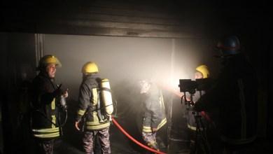 Photo of وفاة طفلين إثر حريق شقة في عمان