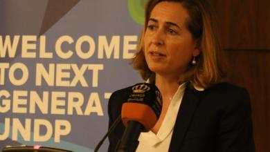 الممثل المقيم لبرنامج الأمم المتحدة الإنمائي سارة فيرير أوليفيلا
