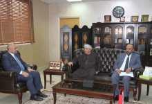 رئيس جامعة العلوم الإسلامية العالمية ا لدكتور وائل عربيات يستقبل الملحق الثقافُي العماني في الأردن اسماعيل البلوشي