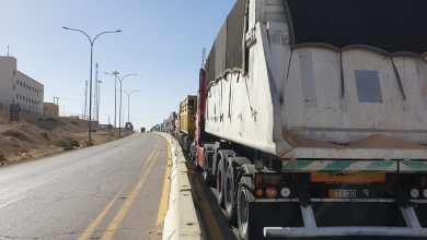 Photo of العقبة: تدهور مقطورة فوسفات تغلق الطريق الخلفي 6 ساعات- صور