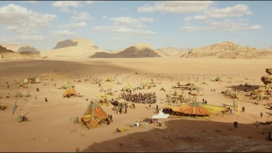 """موقع تصوير فيلم """"حرب النجوم الحلقة التاسعة"""" للمخرجي جي جي ابرامز في صحراء وادي رم"""