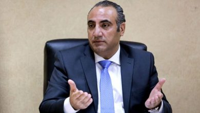 أمين عمان الدكتور يوسف الشواربة (أرشيفية/ تصوير محمد مغايضة