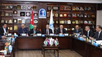 """Photo of لجنة مشتركة بين """"تجارة عمان"""" واتحاد الغرف الفلسطينية لدراسة المعيقات المشتركة"""