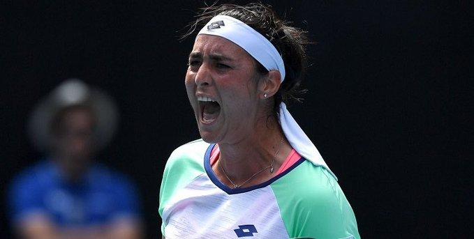 لاعبة التنس أنس جابر