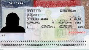 نموذج تأشيرة سفر للولايات المتحدة الأميركية - أرشيفية