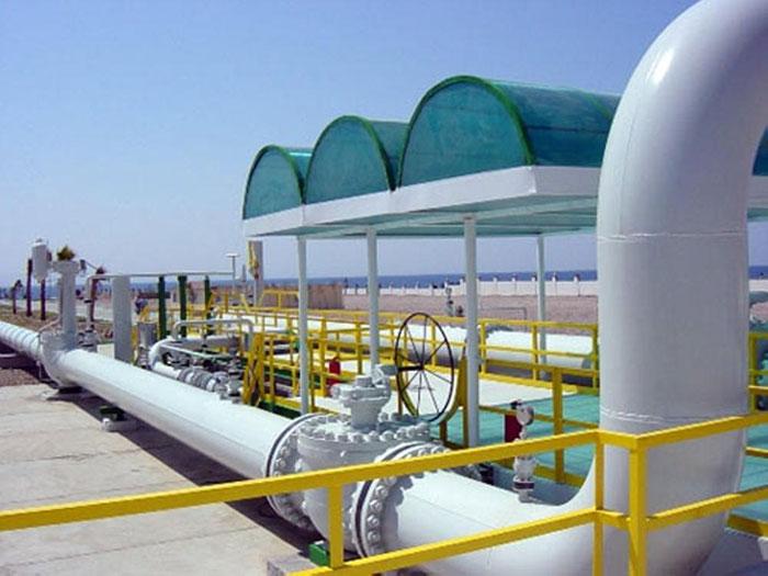 صورة تعبيرية لضخ الغاز