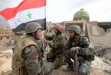 مقتل 9 جنود سوريين على الأقل في هجوم لمتشددين بمنطقة البادية