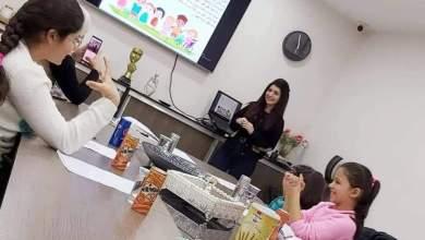 Photo of ورشة للأطفال حول الصحة النفسية والجسدية