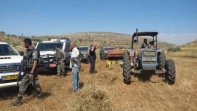Photo of الاحتلال يجرف 50 دونما شمال الضفة الغربية ويغلق فتحات مياه بالأغوار